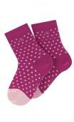 Chaussettes motif pois modèle Chambord en coton