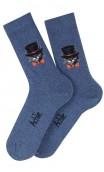Mi-chaussettes chat Arsène en coton