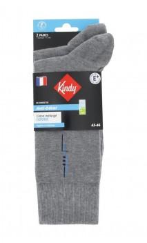 Chaussettes en coton anti-odeur vendues en lot de 2