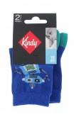 Pack de 2 paires de chaussettes fantaisies pour bébé garçon