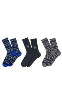 Coffret cadeau 3 paires de chaussettes Achile