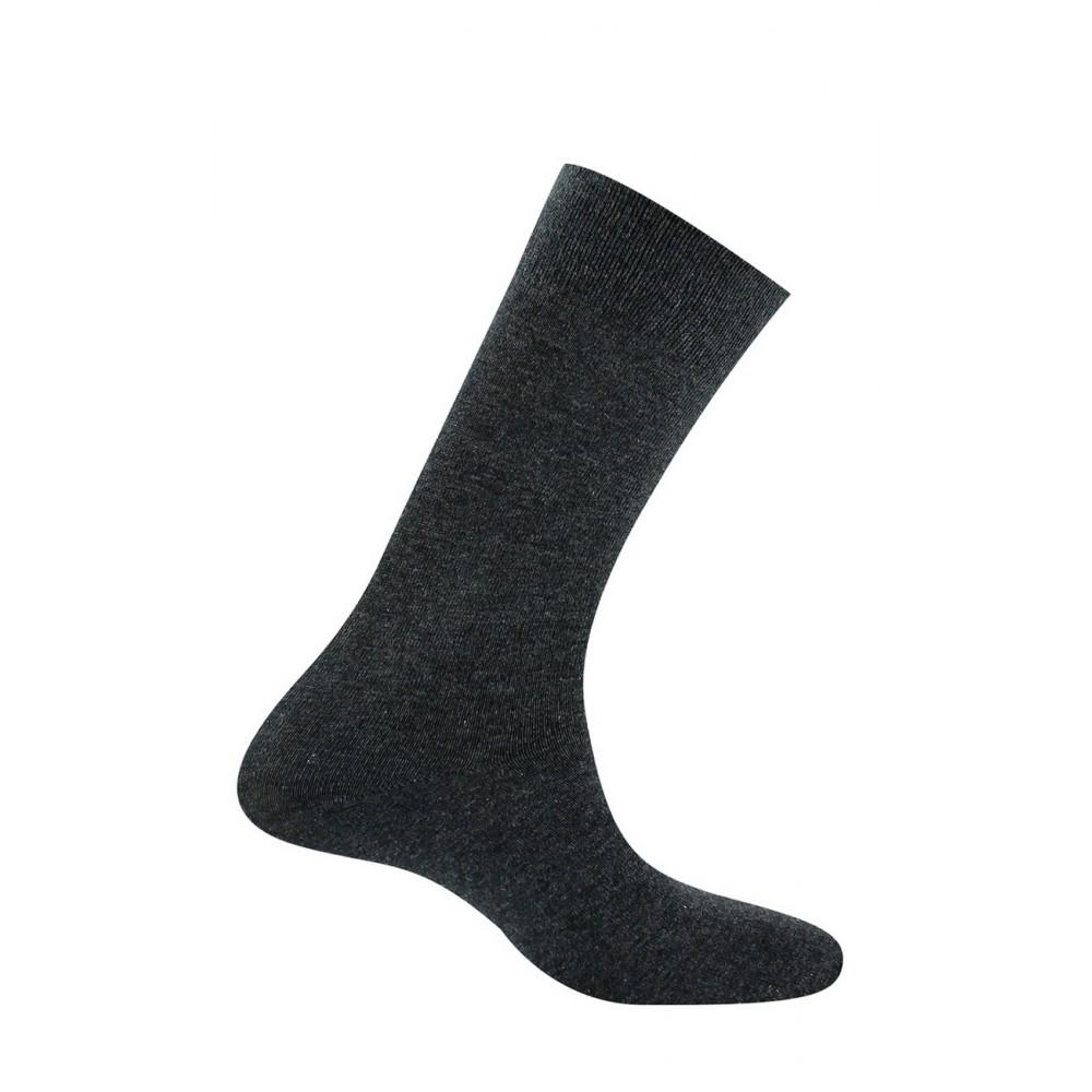 kindy homme mi chaussette jersey unie pur coton. Black Bedroom Furniture Sets. Home Design Ideas