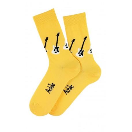 Chaussettes Guitares en coton