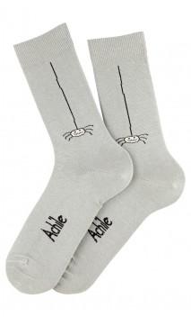 Mi-chaussettes Grigri en coton