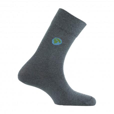 Mi-chaussettes Planète