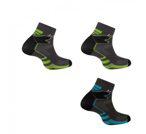 Lot de 3 paires de socquettes Double Trail