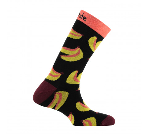 Mi-chaussettes Mixtes Banana