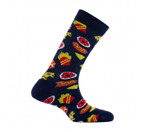 Mi-chaussettes mixtes Junk Food