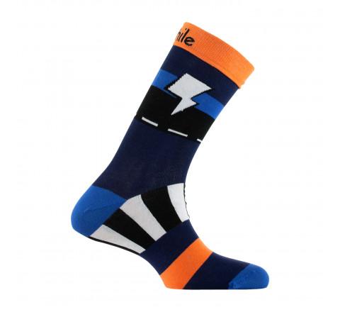 Mi-chaussettes Eclair