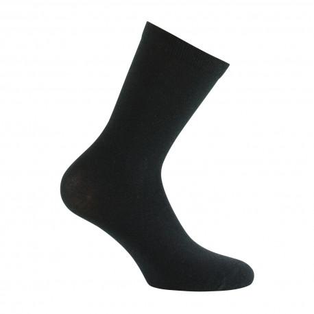 Mi-chaussettes unies en Viscose