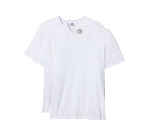 Lot de 2 Tee-shirts Col rond DIM