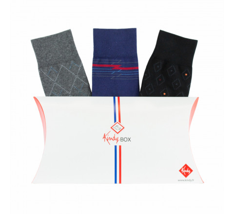 Coffret de 3 paires élégantes MADE IN FRANCE