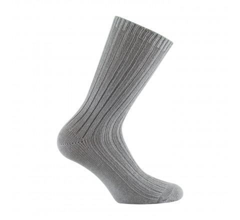 Mi-chaussettes côtes et lurex