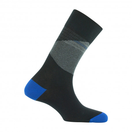 Mi-chaussettes Color block Made in France
