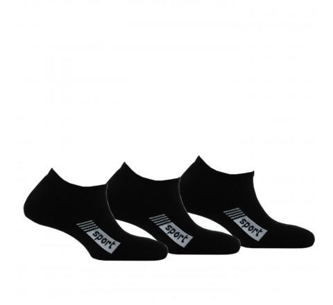 Lot de 3 paires d'invisibles Sport