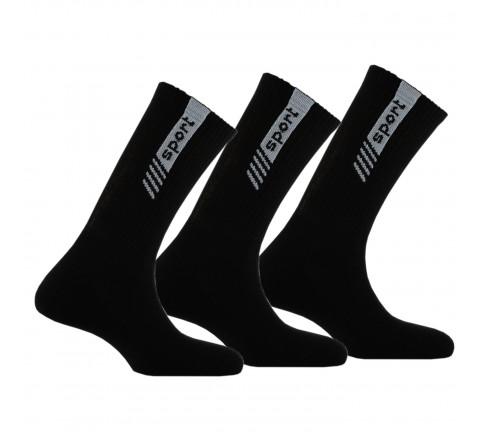 Lot de 3 paires de mi-chaussettes Sport anti-choc