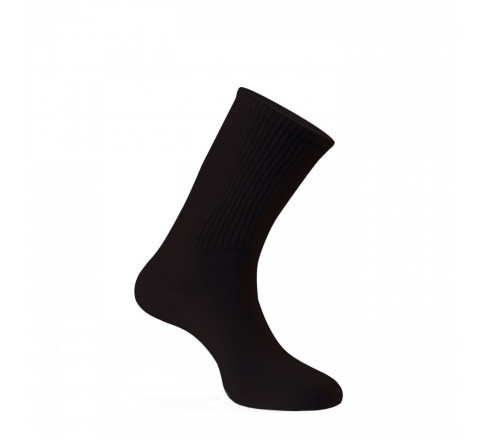 Mi-chaussettes pur coton spéciales diabétiques Made in France