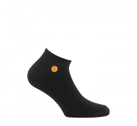 Chaussettes ultra courtes surbroderie Fruit