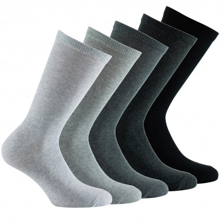Lot de 5 paires de mi-chaussettes camaïeux