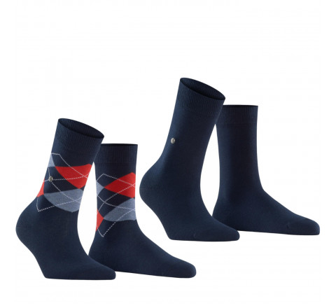 Lot de 2 paires de chaussettes EVERDAY femme