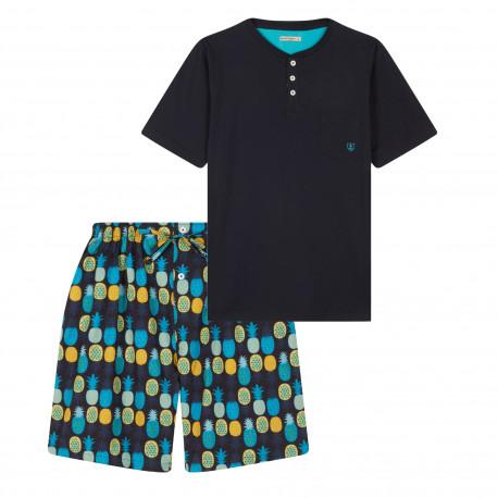 Pyjama short motifs Ananas MARINER