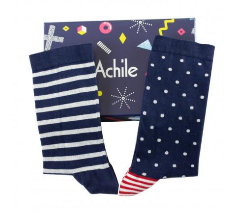 Coffret cadeau 3 paires de chaussettes essentielles Achile