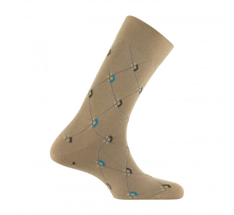 Mi-chaussettes Clan homme MADE IN FRANCE