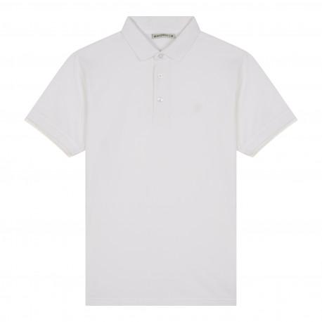 Polo en pur coton au logo brodé MARINER
