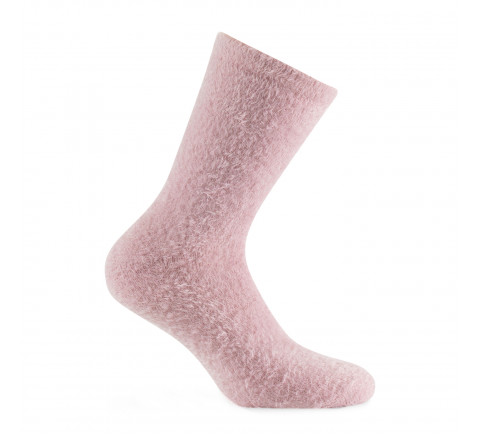 Mi-chaussettes cocooning antidérapantes