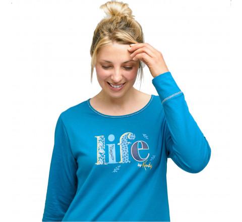 """Pyjama Liquette """"Life"""" pour femme"""