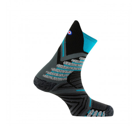 Mi-chaussettes Endurance Trail 2 - MADE IN FRANCE