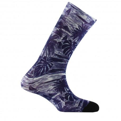Mi-chaussettes imprimées Caraïbes