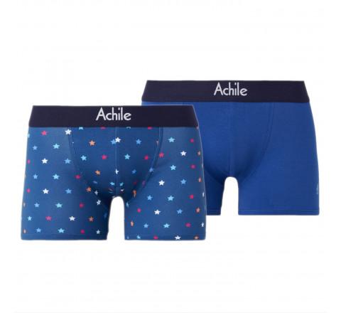 Lot de 2 boxers STARS - coloré et confortable