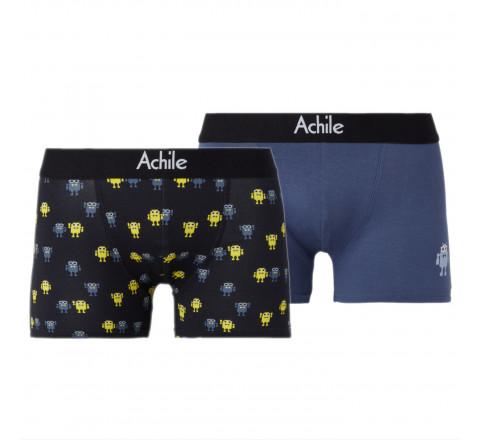 Pack de 2 boxers ANDROID - Fantaisie et moderne