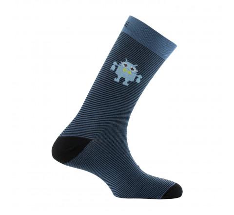 Mi-chaussettes ANDROID en coton