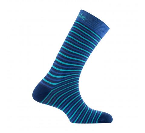 Mi-chaussettes STRIPES en coton