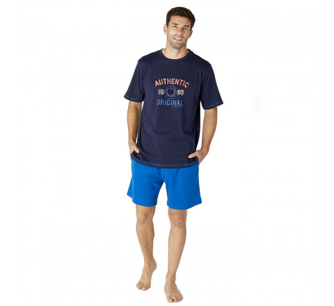 Pyjama court style sportif pour Homme
