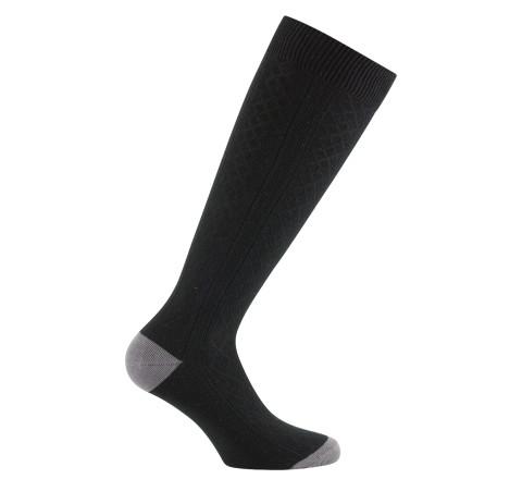 Mi-bas / chaussettes hautes fantaisie de mailles