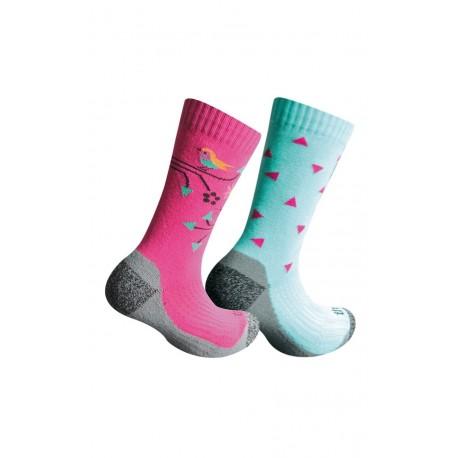 Chaussettes Trekking pour fille par 2