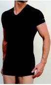 Tee-shirt col V en bambou Mariner