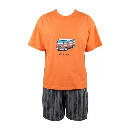 Pyjashort Van en coton Achile