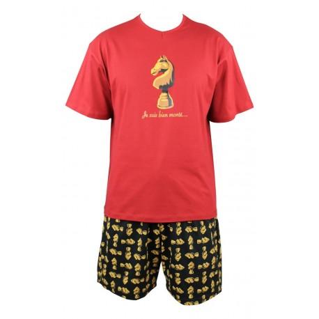 Pyjashort Dada en coton Achile