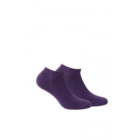 Chaussettes invisibles pur Coton femme en lot de 2