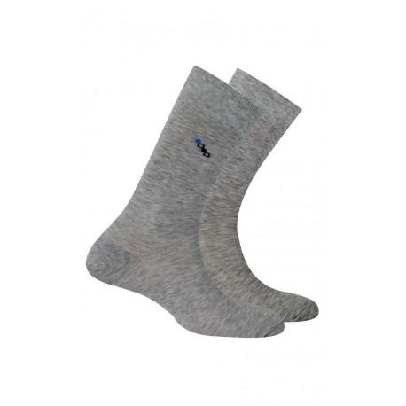 Chaussettes en fil d'écosse anti-odeur vendues en lot de 2