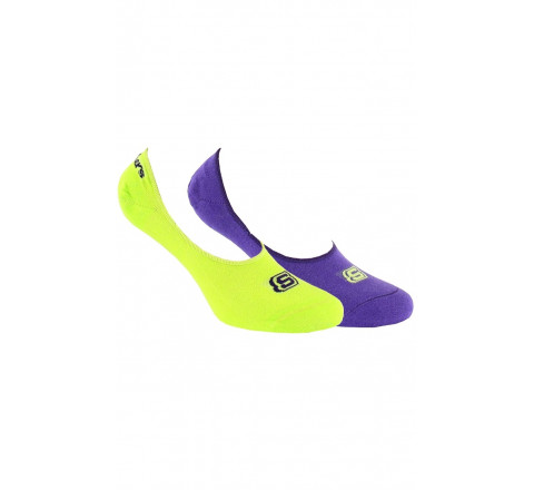 Lot de 2 paires d'ultra-invisibles Sport couleur