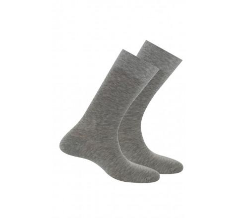 Lot de 2 paires de chaussettes Pur Fil d'Ecosse Anti-odeur