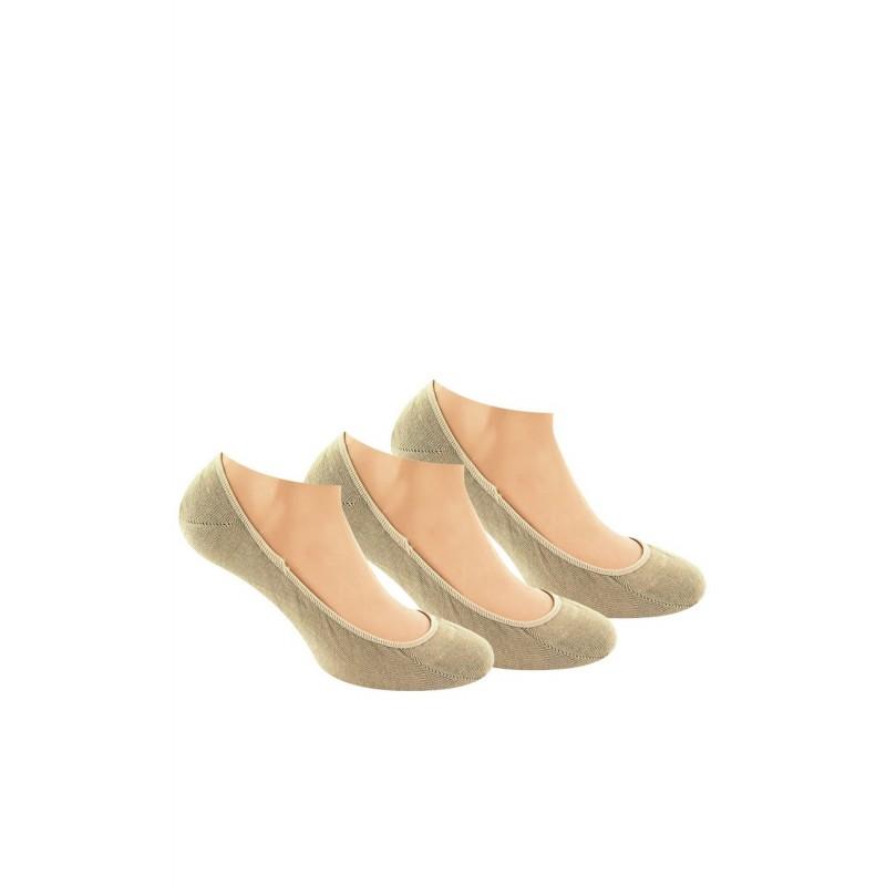 04b773d4e98 Kindy femme   Kindy femme   Lot de 3 paires de protège-pieds ultra ...