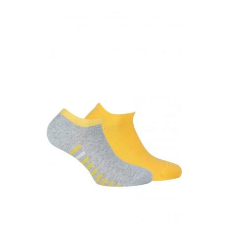 Chaussettes invisibles Coton femme en lot de 2