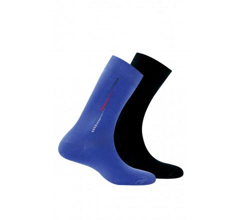 Pack de 2 paires de mi-chaussettes anti-odeur