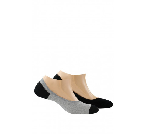 Protège-pieds ultra invisibles pur coton